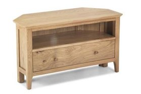 Watford Oak Corner TV Unit